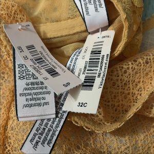 Victoria's Secret Intimates & Sleepwear - NWT Victoria's Secret Bra and Panty Orange Lace